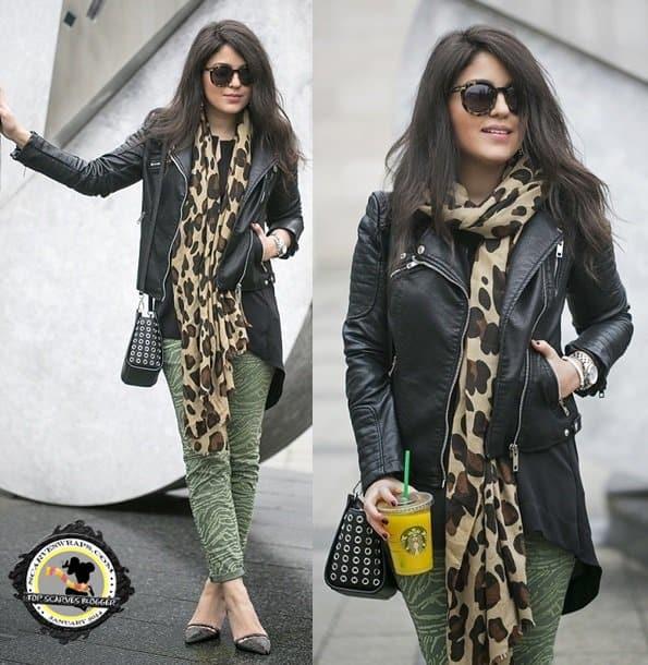 zipy p personal shopper hungary blogger leopard print scarf style 3-horz