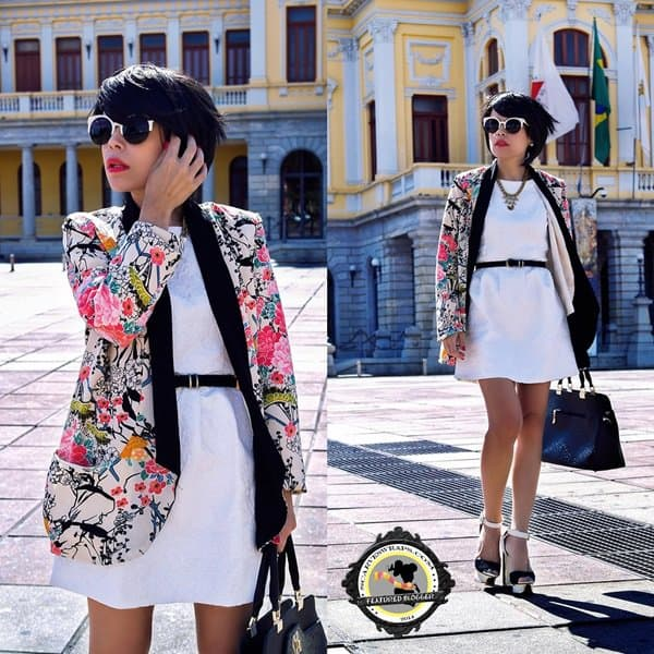 Priscila Diniz Look at Me Br Kimono office style