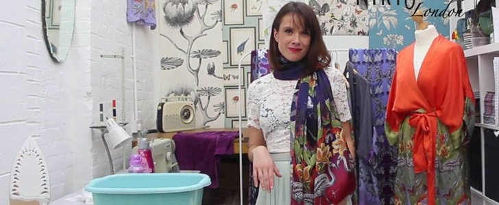 How to Wash & Clean a Silk Scarf: 10 Things You Should Never Do