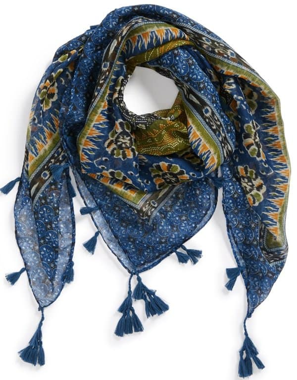 david young folk square scarf