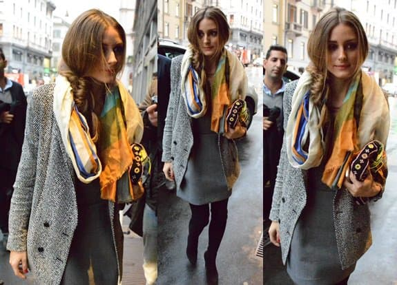 762207e98cb Take a Cue from Olivia Palermo and Dress Up Your Boring Grey Skirt Suit