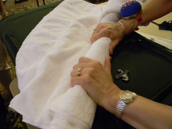 towel drying silk thread magazine