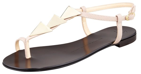 giuseppe zanotti triangle stud sandals