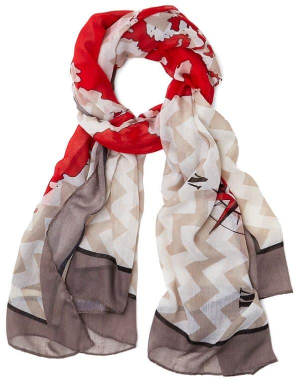 modcloth globetrotter scarf