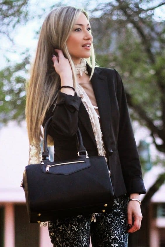 style statement blog lace scarf claudia nascimento 2