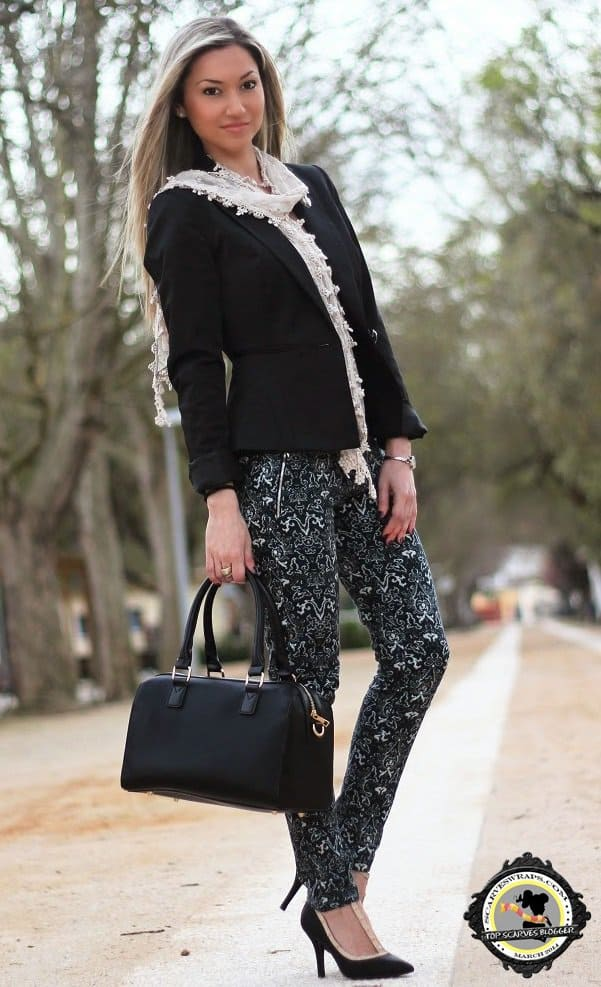 style statement blog lace scarf claudia nascimento 3
