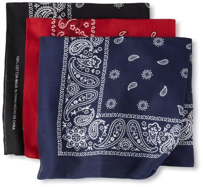 levi's bandana neckerchief