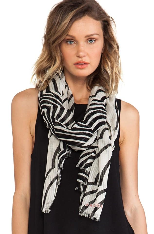 MARC by Marc Jacobs Radiowaves Scarf