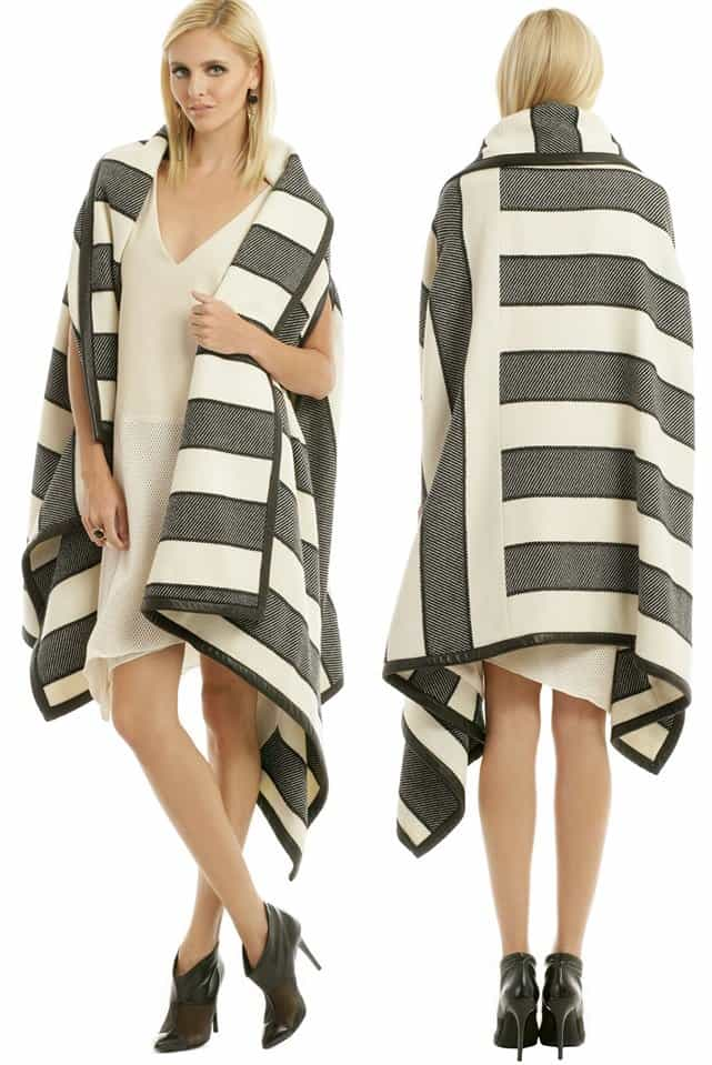 Rag & Bone Bawja Blanket Wrap Coat