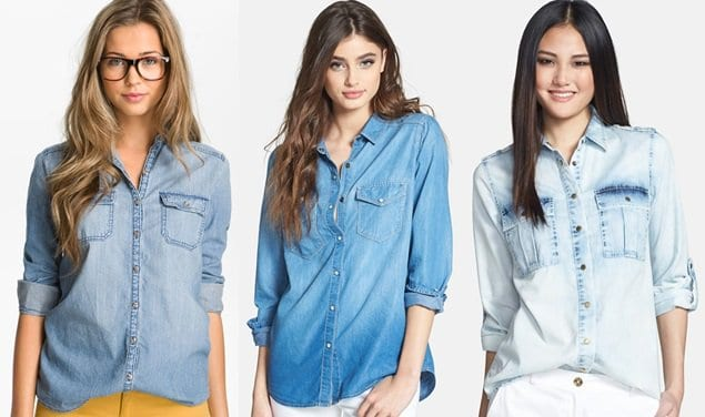 Denim Chambray Shirts