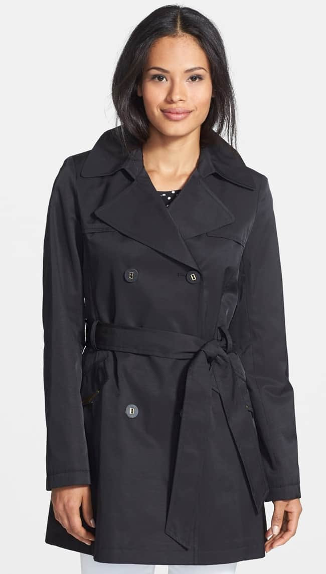 via spiga scarpa double breasted trench coat