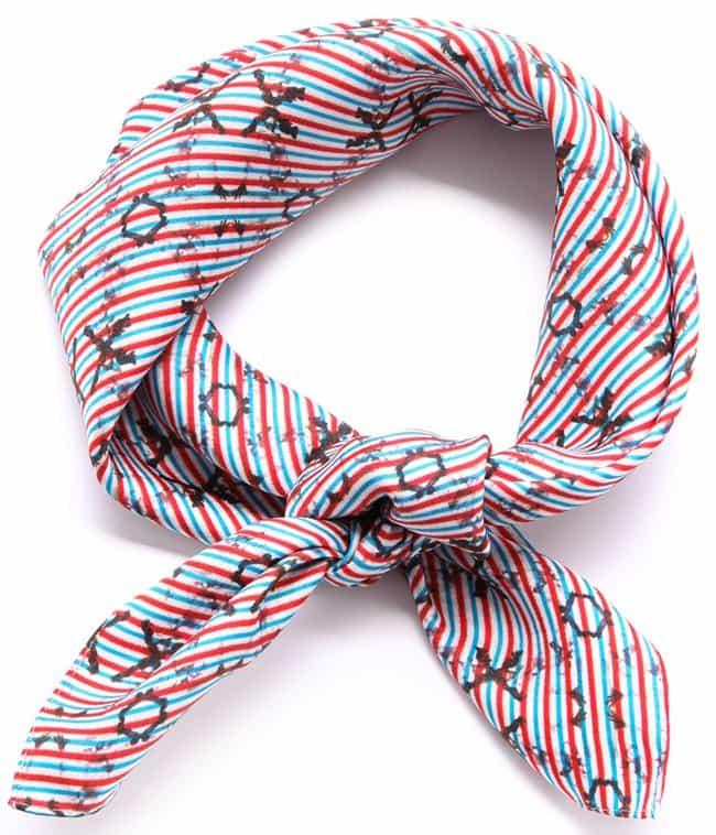 born fee marni silk scarf