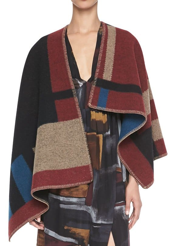 burberry blanket wrap