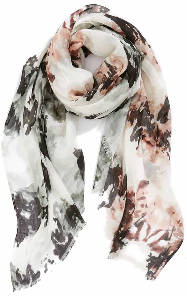 Leith Abstract Print Scarf