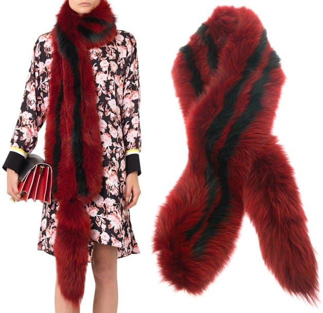 Marni Fox Fur Stole