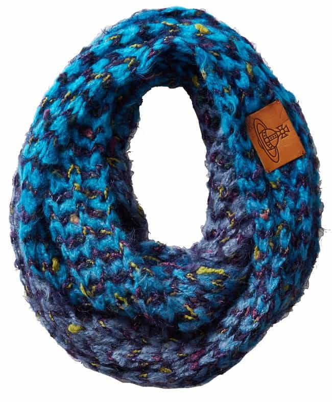 vivienne westwood chunky knit scarf