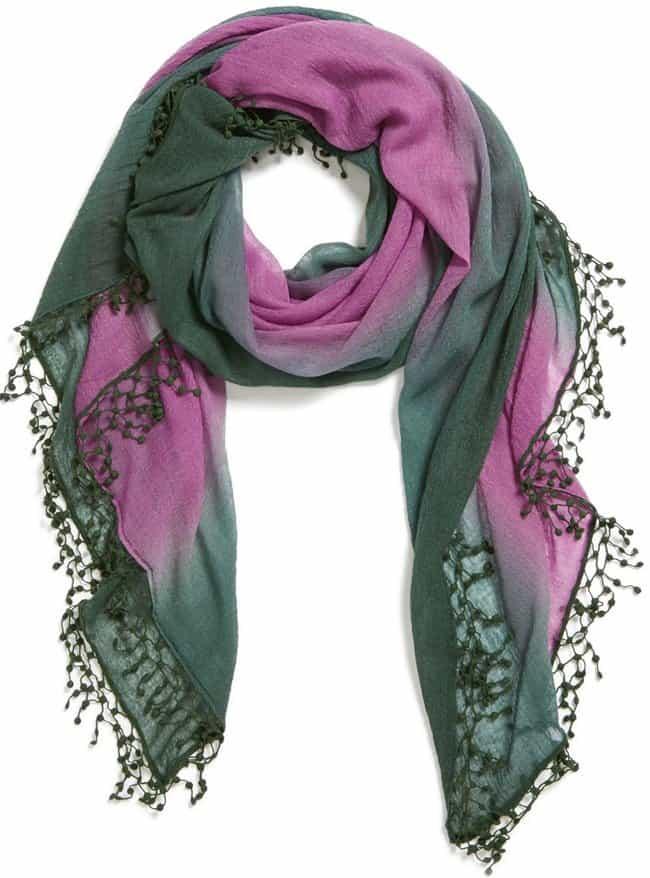 la florentina ombre cashmere scarf