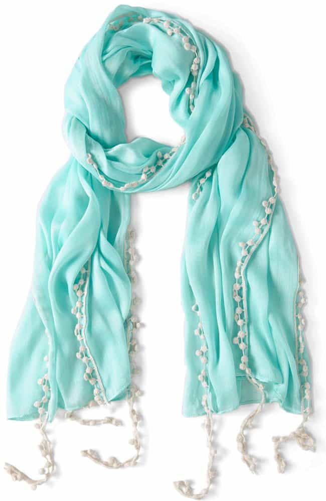 modcloth mint to be scarf