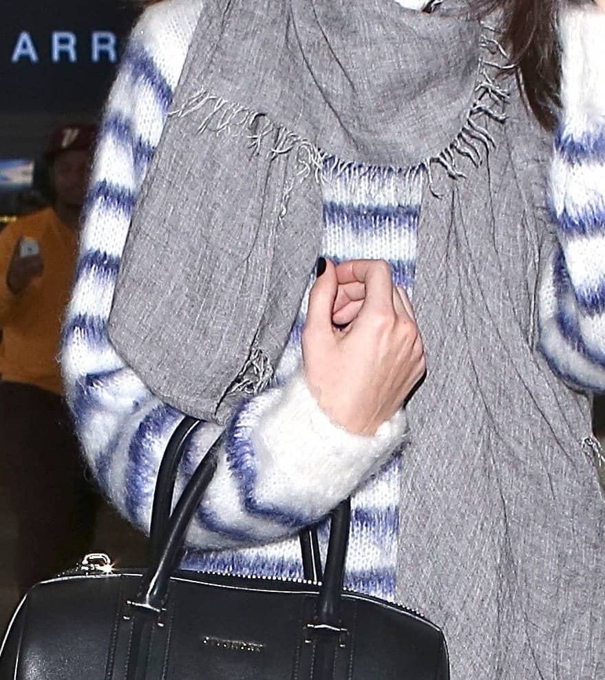 Kendall Jenner arrives at Los Angeles International Airport (LAX)