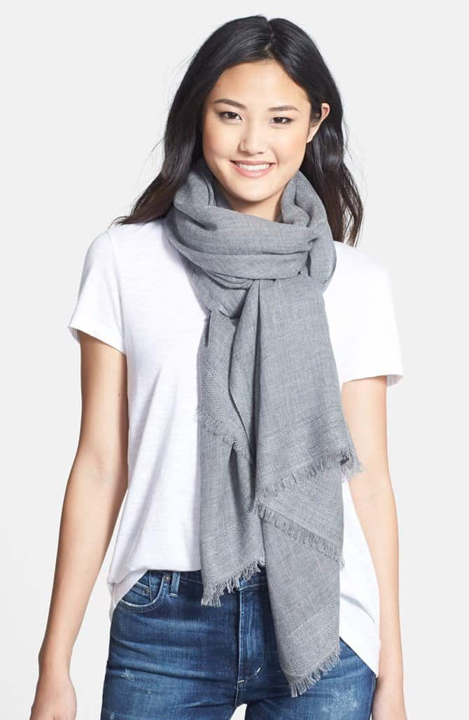 nordstrom tissue weight wool scarf