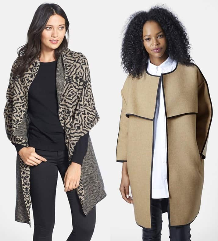 Inamorado Cashmere Wrap / Edge to Edge Blanket Coat