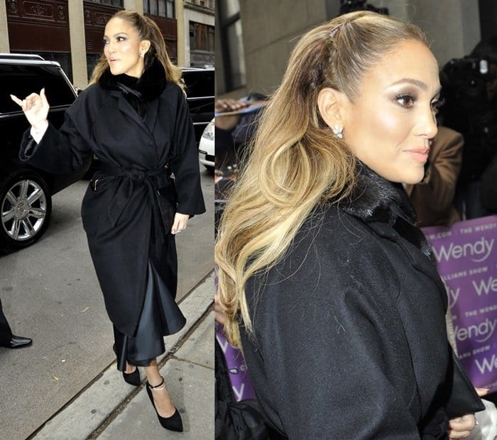 Jennifer Lopez at 'The Wendy Williams'
