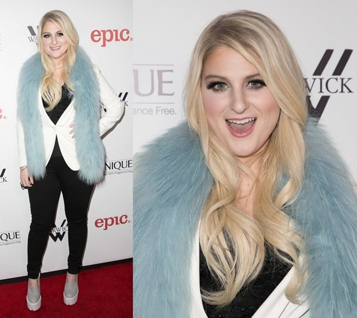 Meghan Trainor's debut album release party