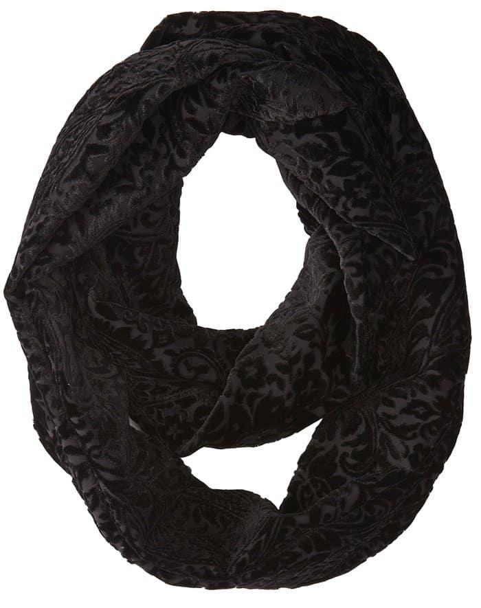 ralph laurent infinity velvet scarf