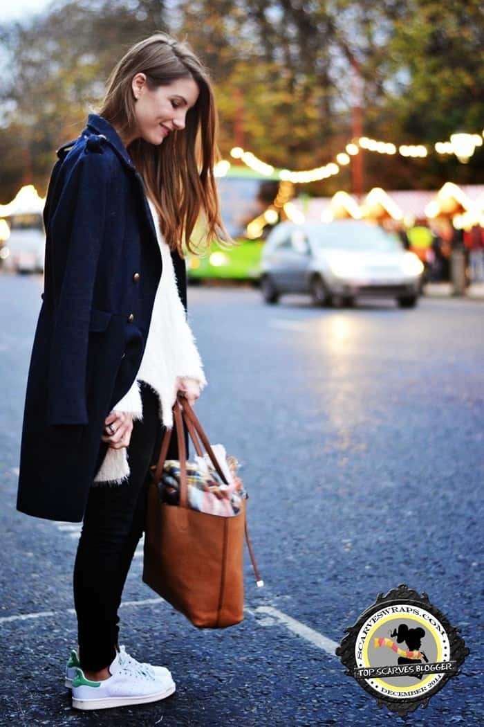 scarf bag style lara siles winter blogger style 2014 3