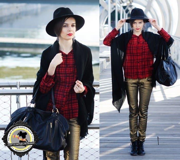 mariya marinova scarf western hipster edgy style blogger february2015 23-horz