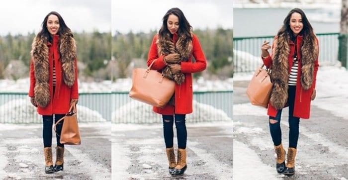 a keen sense of style fur scarf blogger fall 2015 november 4-horz