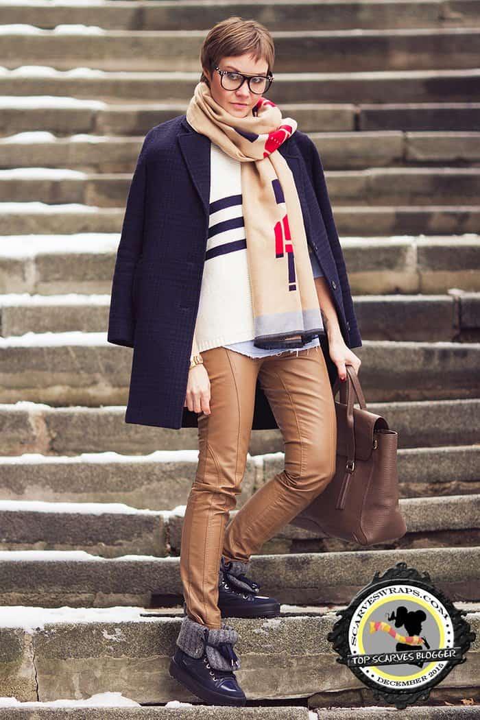 lidia frolova scarf style december 2015 winter 2