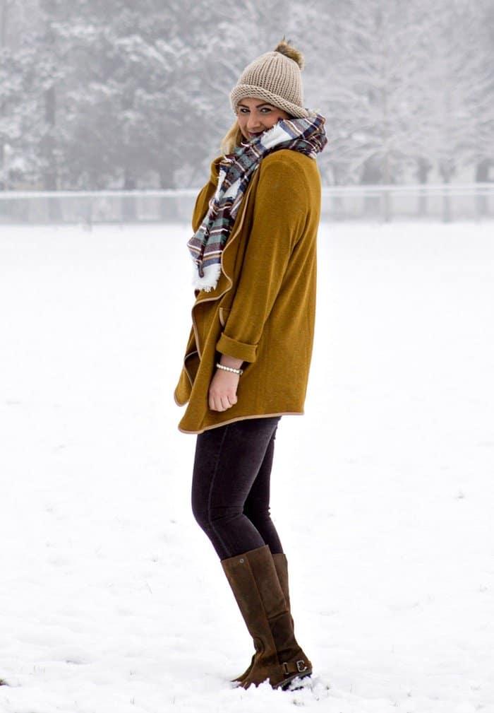 rachel trampel scarf style winter 2015 blogger 2