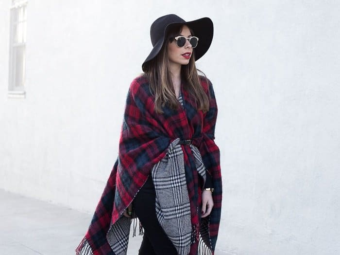 stiletto beats by ejc mixed print scarf wrap winter 2015 december 24