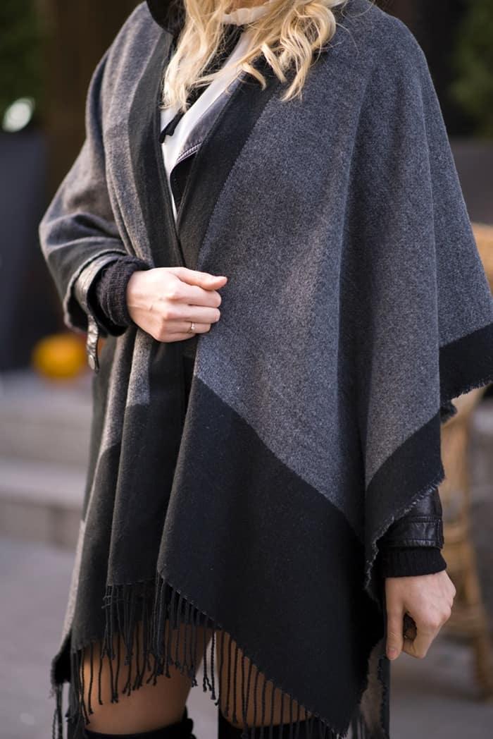 stylish blog story cape wrap scarf style december 2015 99
