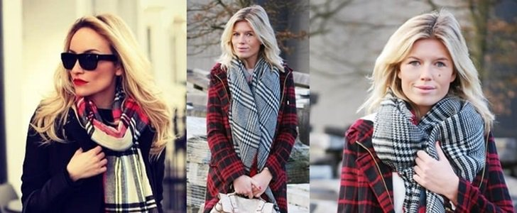 How to Wear a Winter Scarf: 30 Super Stylish Ways to Tie